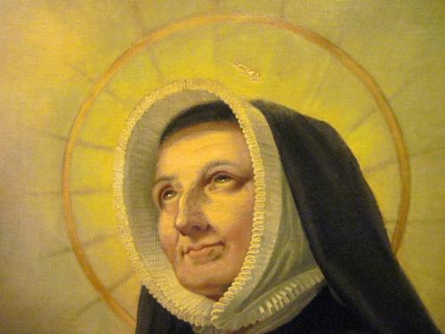 S. Magdalena Sophia Barat (detail)